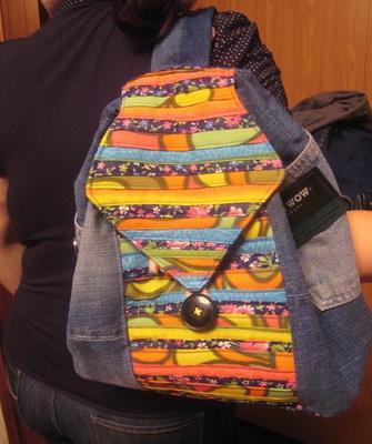 Рюкзак из джинсов ребенку своими руками фото 222