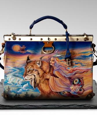 5adb96d35b1a Росписью акриловыми красками можно украсить сумку из любой ткани, как  правило, очень эффектно такая отделка смотрится моделях большого размера и  простого ...