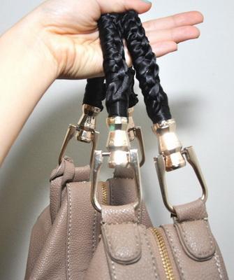 Как обновить ручки сумки своими руками