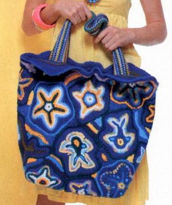 Стильные пляжные сумки своими руками